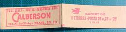 Carnet  N°1331 C2 (S102-63) 40€ - Usados Corriente