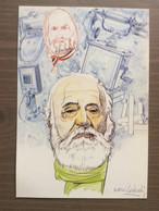 "Cartolina In Bianco ""Inaugurazione Ist. Tecn. Comm.le A. Meucci"" Carpi (MO) Di Nani Tedeschi - Unclassified"