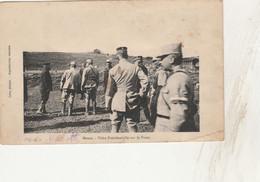 CPA - 55 - MARBOTTE - Visite Présidentielle Sur Le Front - 051 - Weltkrieg 1914-18
