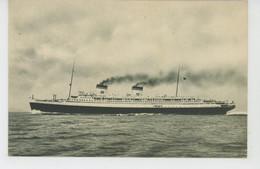 "BATEAUX - PAQUEBOTS - ITALIA - Flotte Riunite Genova - ""REX "" - Steamers"