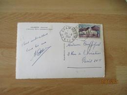 Gramond Aveyron Recette Auxiliaire Cachet Hexagonal - 1921-1960: Modern Period