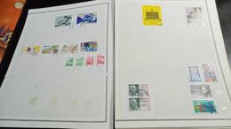 DM225 GROS LOT FEUILLES FRANCE A TRIER  COTE ++  DÉPART 10€ - Collections (with Albums)