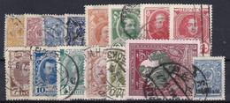 RU010 – RUSSIE - RUSSIA – 1909-17 – USED LOT – MI # 63→115 USED 9,50 € - Usati
