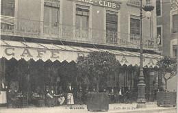 CPA Grenoble Café De La Paix - Grenoble