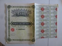 Action Fabrique Des Soieries J Barret - Textil