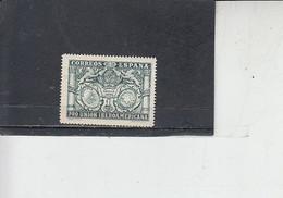 SPAGNA  1930 - Unificato  457**  - Expo Siviglia - Ongebruikt