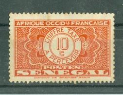 SENEGAL - TIMBRE TAXE N° 23* MH Trace De Charnière - Postage Due