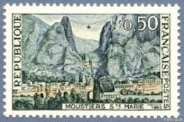 FRANCE 1965 Neuf**, Moustiers Sainte Marie YT 1436 - Ungebraucht