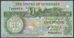 TWN - GUERNSEY 52c - 1 Pound 2002-2009 Prefix T - Signature: Clark UNC - Guernsey