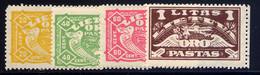 LITHUANIA, SET, NO.'S C32-C35, MLH - Lithuania