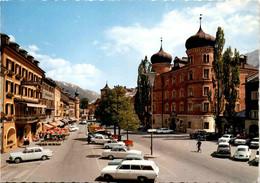 Lienz, Osttirol - Hauptplatz Mit Liebburg (180030) * 22. 8. 1968 - Lienz