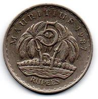 Ile Maurice -  5 Rupee 1987 - TTB - Mauritius