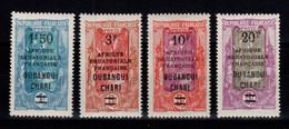 Oubangui - YV 71 / 72 / 73 / 74 N** Luxe , Cote 70,50+++ Euros - Ongebruikt