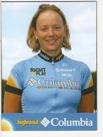 ANKE  WICHMANN    COLUMBIA  2008 - Cycling