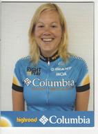 MADELEINE SANDIG    COLUMBIA  2008 - Cycling