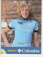 CHANTAL  BELTMAN    COLUMBIA  2008 - Cycling