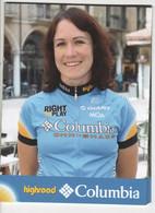 KATE  BATES    COLUMBIA  2008 - Cycling