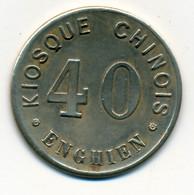 JETON De CASINO // ENGHIEN // KIOSQUE CHINOIS // 40 - Casino