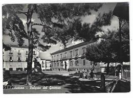 8245 - COSENZA PALAZZO DEL GOVERNO ANIMATA 1952 - Cosenza