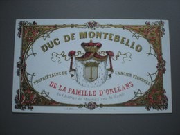 MAREUIL-SUR-AY - DUC DE MONTEBELLO - VIGNOBLE - CARTE PORCELAINE 13.5 X 8 - Mareuil-sur-Ay