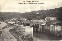Carte POSTALE Ancienne De SAINT  BRIEUC - Ecluses - Saint-Brieuc