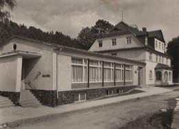 Wurzbach - FDGB-Erholungsheim Rudi Arnstadt - 1969 - Wurzbach