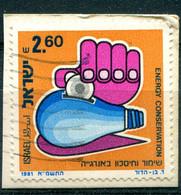 Israël 1981 - YT 789 (o) Sur Fragment - Oblitérés (sans Tabs)
