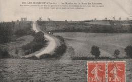 LES HERBIERS (Vendée) Les Moulins Sur Le Mont Des Alouettes Semeuse 10c - Les Herbiers