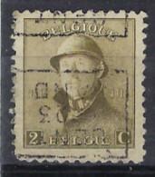 Koning Albert I Met Helm Nr. 166 Voorafgestempeld Nr. 3070 D GENT 1923 GAND ;staat Zie Scan ! - Rollini 1920-29