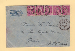Marianne De Gandon - Destination Nouvelle Caledonie - Saint Denis Aude - 24-9-1948 - 1921-1960: Moderne