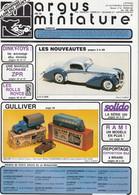 Argus De La Miniature N° 92 - Année 1987 - Literatuur & DVD