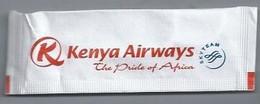 PB.- KENYA AIRWAYS. THE PRIDE OF AFRICA. SKY TEAM. Roerstokje - Swizzle Sticks