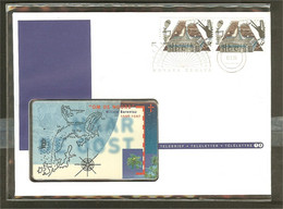 1996 - Netherlands TELE-letter No. 12 - Voyages Of Discovery - Willem Barentz - Nova Zembla [PB11_30] - Cartas