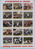 Fantazy Labels Private Issue World Championship Formula One Race Driver Mika Hakkinen. Finland. 2021. - Viñetas De Fantasía