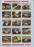 Fantazy Labels Private Issue World Championship Formula One Race Driver Keke Rosberg. Finland. 2021. - Viñetas De Fantasía