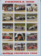 Fantazy Labels Private Issue World Championship Formula One Race Driver Alan Jones. Australia. 2021. - Viñetas De Fantasía