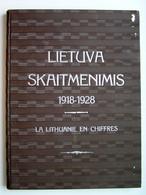 Lithuanian Book / Lietuva Skaitmenimis. 1918-1928 M. Diagramų Albomas 1929 - Oude Boeken