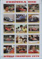 Fantazy Labels Private Issue World Championship Formula One Race Driver Jody Scheckter. SOUTH AFRICA. 2021. - Viñetas De Fantasía