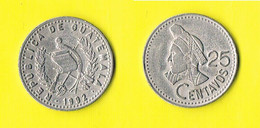 Guatemala - 25 Centavos-1992 - Guatemala