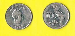 Zambia 10 Ngwee - 1968 - Zambia