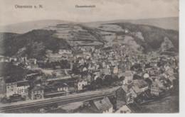 CPA Oberstein A. N. - Gesamtansicht (avec Jolie Vue Sur La Gare) - Idar Oberstein