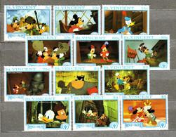 "St. VINCENT 1991 Walt Disney ""The Prince And The Pauper"" MLH(*) Mi 1829-1840 Sc 1506-1517 #12318 - Disney"