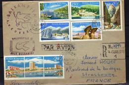 Roumanie (1971)-  Lettre Pour La France - Covers & Documents