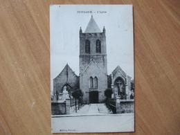A1 TETEGHEM  L église - Other Municipalities