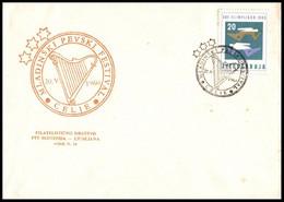 """Yugoslavia 1960, Illustrated Cover """"Celje Singing Festival 1960"""" W./ Postmark """"Celje"""" - Covers & Documents"""