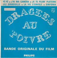 45T. BO Film : DRAGEES AU POIVRE - Guy BEDOS, Sophie DAUMIER, Anna KARINA. Yé-Yé - Soundtracks, Film Music