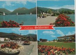 Schliersee - 4 Teilbilder - Ca. 1980 - Schliersee