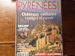 Magazine PYRENEES - Châteaux Cathares Vestiges D'avenir - Tourism & Regions