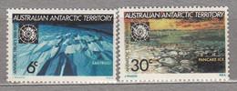 AAT 1971 MNH(**) Antarctic Treaty Complete Set Sc L19-L20 Mi 19-20 #12613 - Sin Clasificación