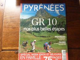 Magazine PYRENEES - GR 10 - Mourenx - Les Chauves Souris - Les Gegants - Tourism & Regions